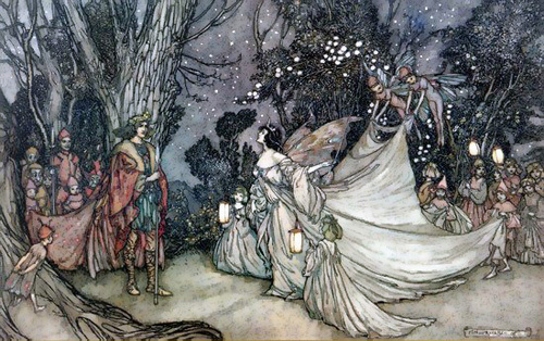 A Midsummer Night S Dream Lost In The Forest The Shakespeare Blog