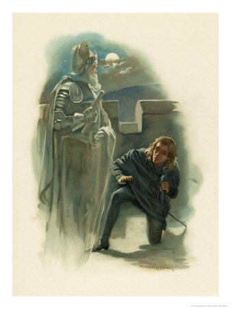 an interpretation of the death of king hamlet in the story hamlet Approximately how much time has passed between the death of king hamlet and the remarriage of gertrude to claudius.