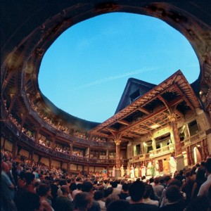 The reconstructed Shakespeare's Globe