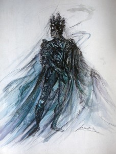 James Bailey's design for Oberon in A Midsummer Night's Dream, 1949