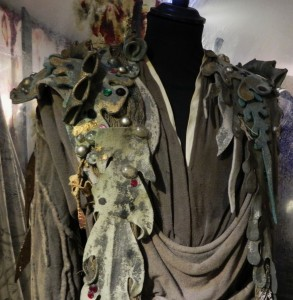 Detail of Richardson's costume