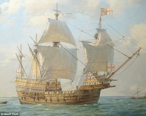 Impression of the Mary Rose