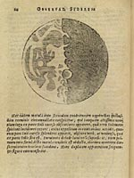 Galileo's view of the moon, 1610