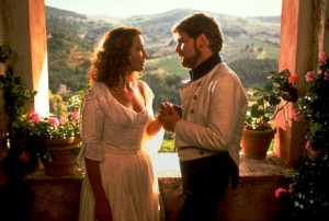 Emma Thompson and Kenneth Branagh in the film of Much Ado