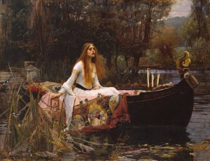 John William Waterhouse's The Lady of Shalott