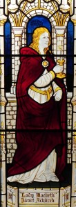Janet Achurch as Lady Macbeth: the Benson window