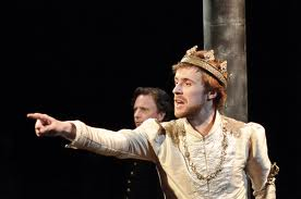 John Heffernan as Richard II, Tobacco Factory 2011