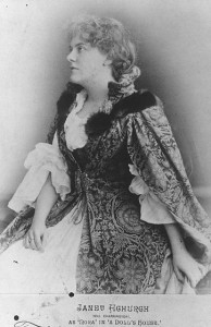 Janet Achurch as Nora in A Doll's House