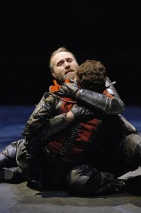 The death of Talbot and his son from the Oregon Shakespeare Festival production