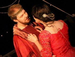 Aeneas and Dido, in the Rose production