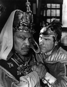 Paul Robeson as Othello, Sam Wanamaker as Iago, Othello, SMT 1959