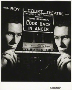 NPG x20115; John Osborne by Mark Gerson