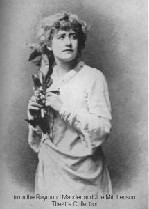 Ellen Terry as Ophelia