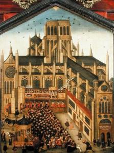 John Gipkin's painting of Paul's Cross, 1616