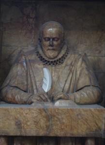 John Stow memorial