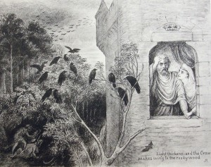 Illustration from Crows of Shakespeare