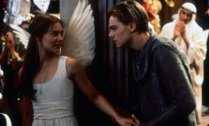 Juliet and Romeo from the Baz Lurhmann film