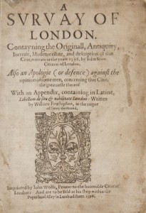 John Stow's Survey of London