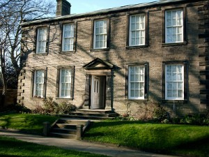 The Bronte parsonage in Haworth