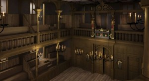 An impression of the new Sam Wanamaker playhouse
