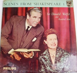 Donald Wolfit and Rosalind Iden's recording of Scenes from Shakespeare