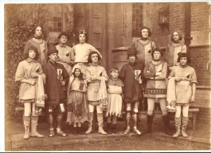 Supers including William Jaggard in the back row, second from right