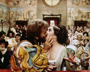 Richard Burton and Elizabeth Taylor in Zeffirelli's The Taming of the Shrew