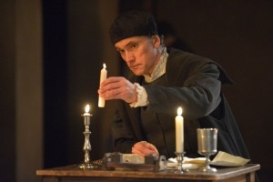 "Ben Miles as Thomas Cromwell in the Royal Shakespeare Company's adaptations of Hilary Mantel's novels ""Wolf Hall"" and ""Bring Up the Bodies."" Keith Pattison"