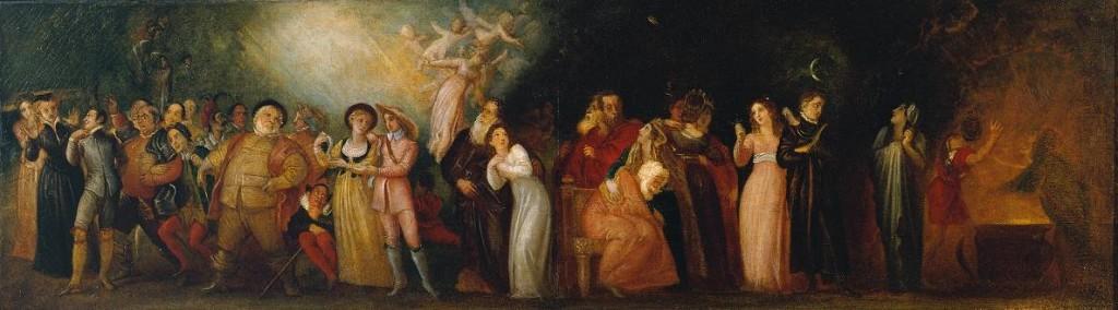 Thomas Stothard, Shakespearean Characters. Tate Gallery
