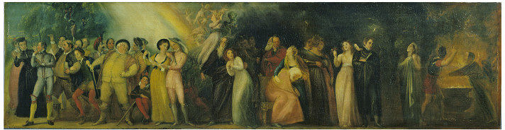 Thomas Stothard, Shakespearean Characters, Victoria and Albert Museum