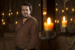Dominic Dromgoole, Artistic Director of Shakespeare's Globe, in the Sam Wanamaker Playhouse