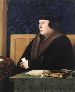 Holbein's painting of Thomas Cromwell. Frick Collection, New York