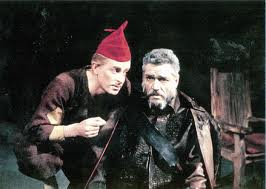 Paul Scofield as Lear in 1962, RST