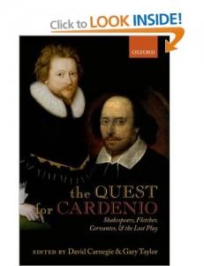 the quest for cardenio