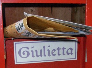 The Juliet mailbox