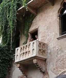 """Juliet's Balcony"" in Verona"