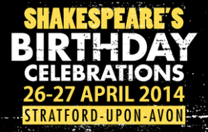 shakespeare birthday celebs