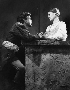 John Stride and Judi Dench Old Vic 1960