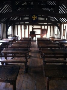 The schoolroom at KES
