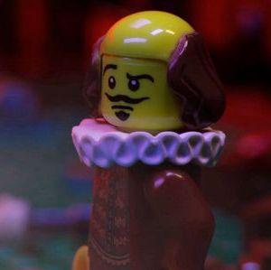 Shakespeare in lego from Shakespeare versus Shatner