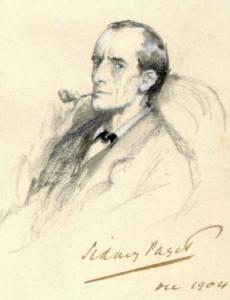 Sidney Paget's 1904 illustration of Sherlock Holmes