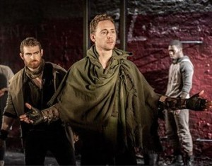 Tom Hiddleston as Coriolanus, Donmar