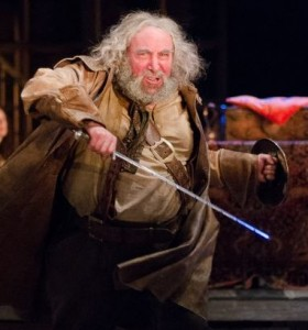 Antony Sher as Falstaff. Photographer: Kwame Lestrade