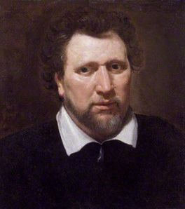 Ben Jonson by Abraham van Blyenberch, oil on canvas, circa 1617. NPG2752