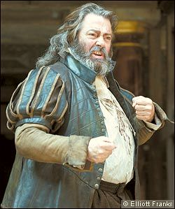 Roger Allam as Falstaff, Shakespeare's Globe