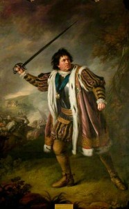 Nathaniel Dance-Holland's painting of David Garrick as Richard III
