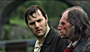 David Morrissey and David Bradley in Our Mutual Friend