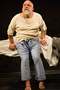 Simon Russell Beale in The National Theatre's production, opening 23 Januar