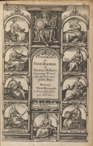 Title page of Heywood's Gynaikeion, 1624