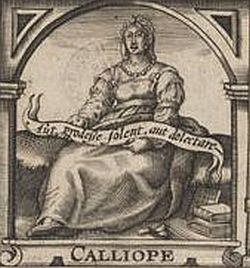Calliope, from the title page of Heywood's Gynaikeion